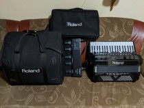 Acordeon Roland FR-7x negru