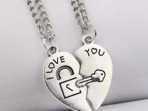 Lant/Lantisor/Colier/Pandantiv i love you