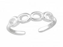 Inel De Picior Argint, Cerc, Reglabil, A4S20984