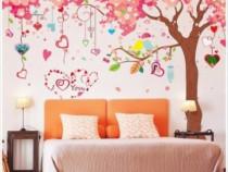 Sticker Decorativ, Copacelul,Roz 360 Cm