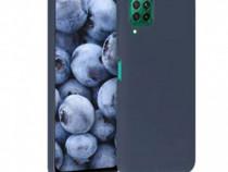 Husa Telefon Silicon Huawei P40 Lite Matte Blue PRODUS NOU