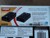 LABGEAR HDMI OVER CAT 5E/6 EXTENDER KIT