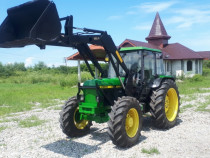 Tractor John Deere 2650 ,4x4 cu incarcator frontal