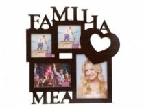 Rame Colaj - Familia Mea 37x38 Cm