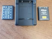 Acumulatori + Incarcator Nikon