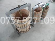 Presa Teasc stejar 15 20 25 40 60 litri struguri fructe