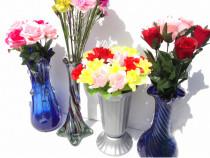 Lot de 4 vaze cu flori artificiale