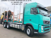 Camion forestier Volvo 6x4 Loglift-135Z+avans de la 0%