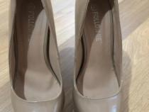 Pantofi stiletto, toc 17 cm