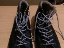 Adidas ghete din piele negre originals HENNL EYS marime