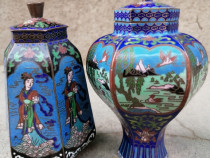 Vase cloisonne