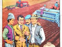 Afis / poster vechi perioada comunista - Muncile Agricole
