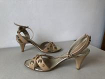 Sandale Eden Shoes, originali, din piele naturala exterior s