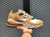Nike Air Max 270 React Reggae Club Gold/Light Bone- 42