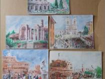Italia - 5 lucrari vechi
