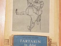 Tartarin in Alpi de Alphonse Daudet. Ilustratii Val Munteanu
