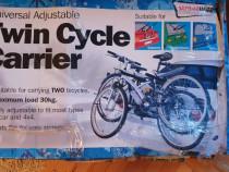 Suport pentru transport 2 biciclete Twin cycle carrier