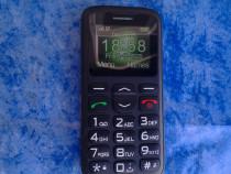 Telefon mobil Seniori, Taste Mari, Buton SOS, Meniu simplu