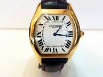 Ceas Cartier Tortue 18 K Yellow Gold Blue Sapphire