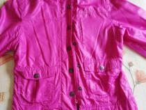 Geaca roz subtire 140/146