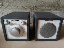 Radio retro Hyundai model he-sr1100