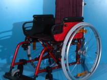 Scaun cu rotile din aluminiu Sopur / sezut 36 cm