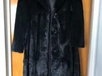 Set haină și căciulă din blană de marmotă