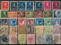 Un set de timbre vechi romanesti
