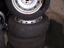 Set 4 roti 185/65/15 dacia logan