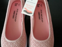Pantofi NOI roz memory foam 35 (22 cm)