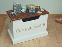 Cutie pentru jucării- Mobilier camera copil