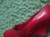 Pantofi dama piele
