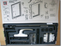 Mecanism complet dubla deschidere fereastra termopan Alumini