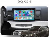 Navigatie dedicată Mitsubishi Lancer cu Android 9.0