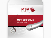 Racordaj tenis MSV Co Focus grosime 1.27mm alb plic sau rola