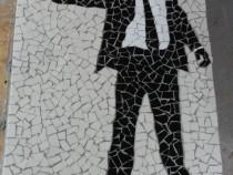 James Bond Tablou mozaic ceramica Hand Made