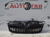 Grila radiator Skoda Fabia 2 Facelift 2010-2014