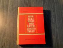 Organele statului socialist roman in sistemul democratiei