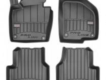 Set Covorase Auto Cauciuc Negro Volkswagen Passat B6
