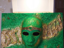 Tablou 3D mask