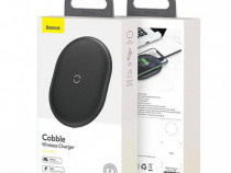 Incarcator Priza Telefon Wireless Qi 15w si Cablu Date USB C