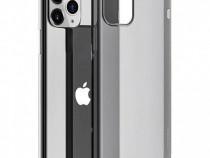 Husa telefon Silicon Apple iPhone 11 Pro Max Clear Grey