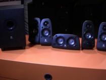Sistem Boxe Logitech 5.1 Z506/75W RMS/3D Stereo/Bass control
