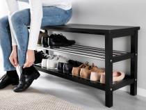 Pantofar - suport de pantofi cu banca - 81-108 cm - Nou
