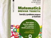 Matematica breviar teoretc exercitii si probleme propuse 8