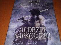 Seria Witcher : Sabia Destinului de Andrzej Sapkowski