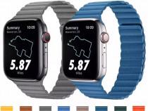 Curea Ceas Imitatie Piele - Apple Watch 38/40/42/44mm
