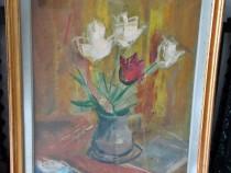 Pictura Tablou Sorin Ionescu - vaza cu flori