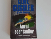 Carte Aurul spartanilor de Clive Cussler - Noua