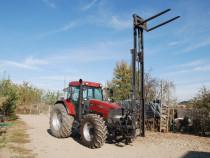 Stivuitor Tractor/ Incarcator tractor 6 metri/Macara saci